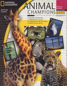 Animal Champions - National Geographic - Panini - 2007