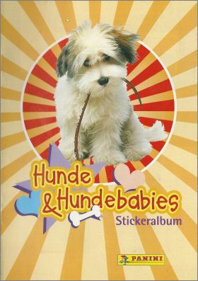Hunde & Hundebabies - Panini - Allemagne