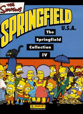 The Simpsons - 4ème Album Springfield Collection Panini 2003