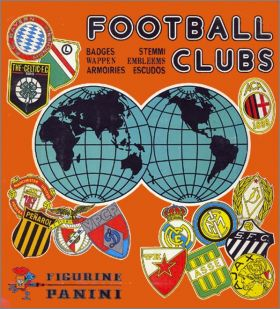 Football Clubs - Album Figurine Panini 1975