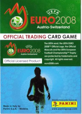 UEFA euro 2008 - Official Trading Card Game