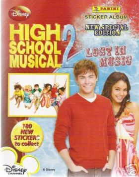 High School Musical 2 - Lost In Music - Stickers (Disney)