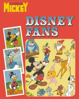 Disney Fans - Le journal de Mickey - 1974