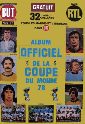 Album Officiel de la Coupe du Monde 78 - But - RTL
