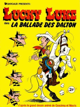 Lucky Luke La Ballade des Dalton Sticker Album Dargaud 1978