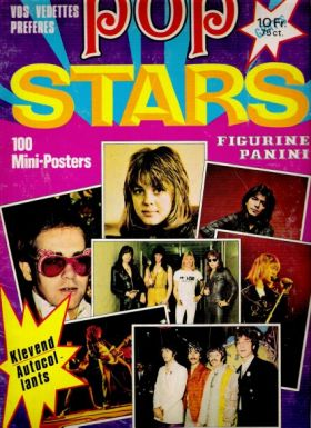 Pop Stars - 100 mini-Posters - Figurine Panini - 1979