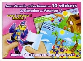 Danonino en Vacances (stickers)