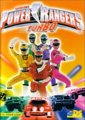 Power Rangers - Turbo -  DS Sticker collections - 1998