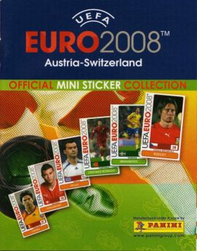 UEFA Euro 2008 (pocket) mini-sticker - Panini - France