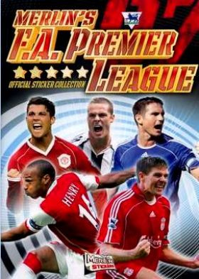 Premier League 07 (Merlin's) - Angleterre