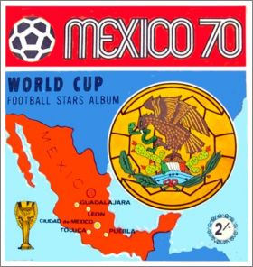 Mexico 70 World Cup - Panini - Football Stars Album !