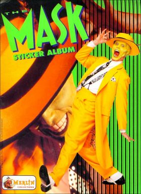 The Mask - Le Film - Sticker Album Merlin - 1994