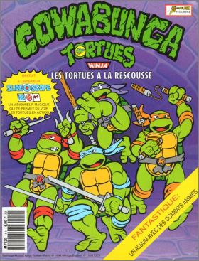 Tortues Ninja - Cowabunga - Les Tortues à la Rescousse
