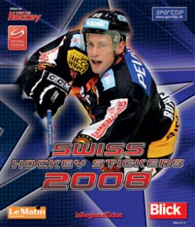 Swiss Hockey Stickers 2008 - Top Hockey - Suisse