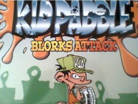 Kid Paddle - Blorks Attack (cartes)