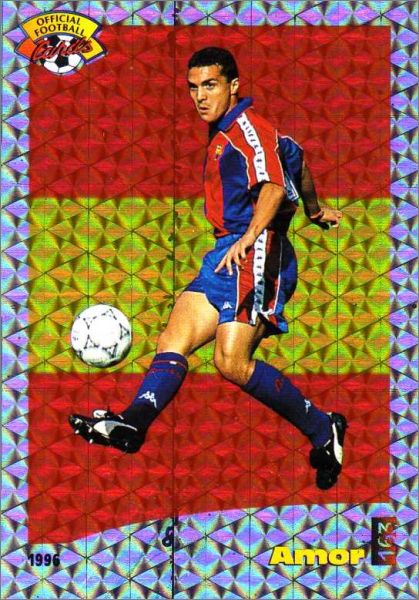official football cards 1996 football sports tous les albums
