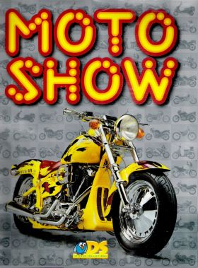 Moto Show -  DS Sticker collections - 1996