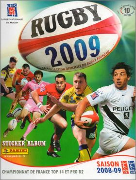 Rugby 2009  - Panini France