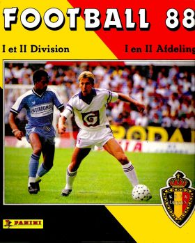 Football 88 - Belgique - 1�re et 2�me Division