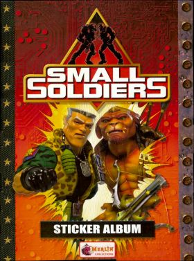 Small Soldiers - Sticker Album - Merlin Collections - 1998