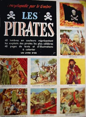 Les Pirates - L'Encyclopedie par le Timbre N°12