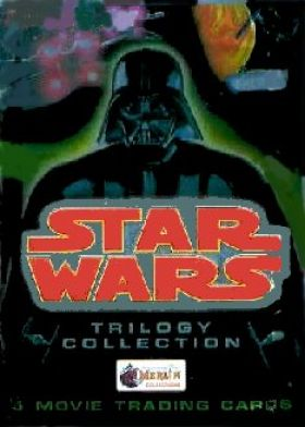 Star Wars - Trilogy Collection - Movie Trad Cards - anglais