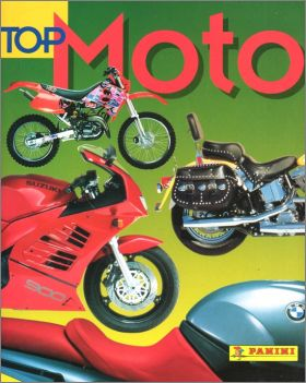 Top Moto - Sticker Album - Panini - 1998