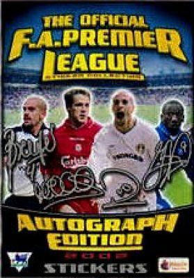 Premier League 2002 Autograph Edition