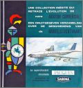 "Aviation Commerciale ""Sabena"" Chocolat Jacques  1963"