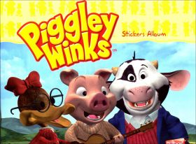Piggley Winks - Sticker Album - Edibas - Italie - 2008