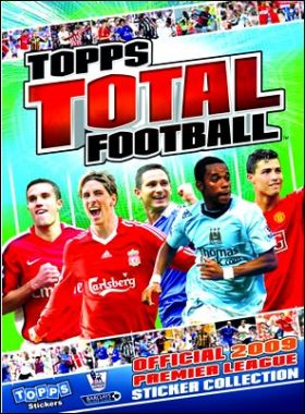 Topps Total Football Premier League 2009 Stickers