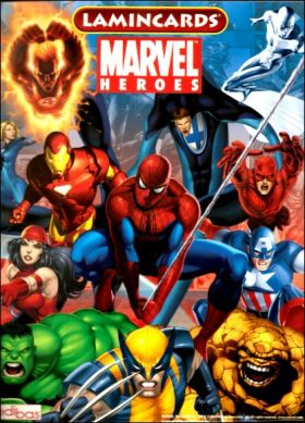 Marvel Heroes - Lamincards