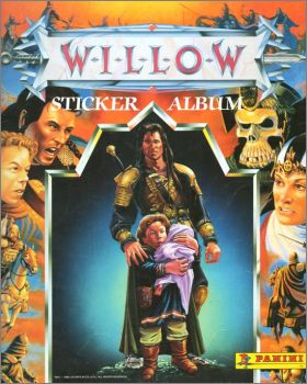 Willow - Stickers Album - Panini - USA - 1988