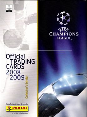 UEFA Champions League 2008/2009 - Official Trading Cards