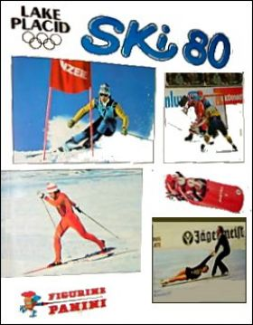 Ski 80 Lake Placid - Album de sticker - Figurine Panini 1980