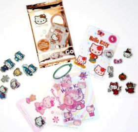 Hello Kitty - Stick & Go - Cards - Italie