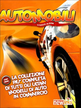 Automobili (Automobiles) Sticker Album Newlinks 2007 Italie