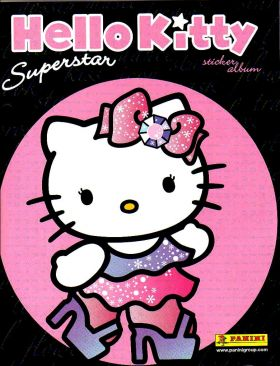 Hello Kitty Superstar (uniquement les stickers) Panini 2009