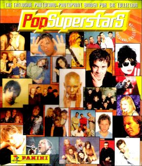 Pop Super Stars (photocartes) - Album Panini - 1989