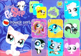 Littlest Pet Shop - Power Dips (sucette pétillante + poudre)