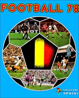 Football 78 - Belgique - Figurine Panini