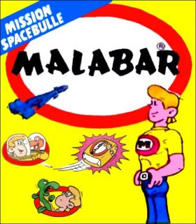 Malabar - Mission Spacebulle - Bubble gum 1985