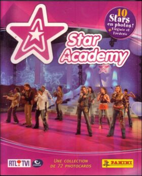 Star Academy - Belgique - Photocards