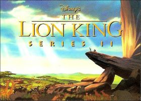 Le Roi Lion / The Lion King - Trading Cards - S�rie 2