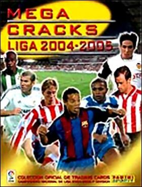 Mega Cracks Liga 2004/2005 - Trading cards
