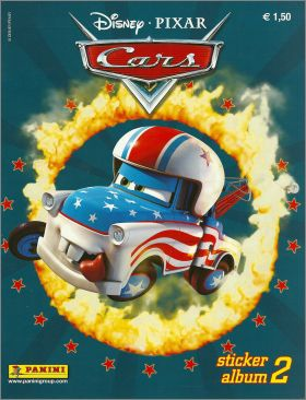 Cars Sticker Album 2 ( Le Monde de Cars 2) - Panini - 2009