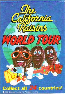 The California Raisins World Tour