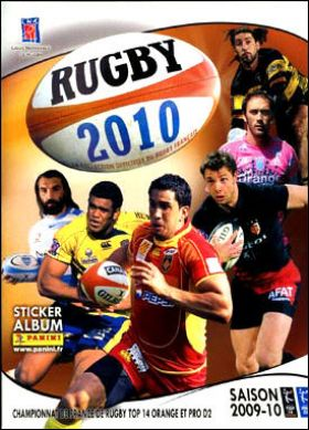 Rugby 2010 -  Panini - France