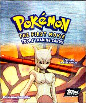 Pokemon - Movie Animation Edition - Trading Cards