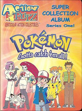 Pokemon Action Flipz - Series One - cartes lenticulaires